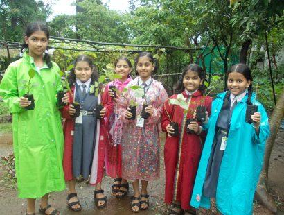 2015, Lokpuram visit & polybag filling
