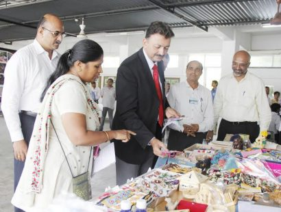 Vice – Chancellor Sanjay Deshmukh at Green Shopee