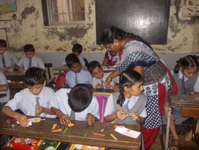 2011 Harkrishan School rakhi workshop a