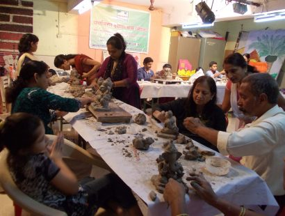 2011 Ganpati workshop Atre katta