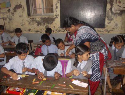 2011 Harkrishan School rakhi workshop a