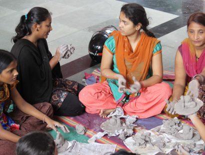 2014 photo on ganpati workshop sanpada, vataslya trust