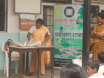 2016 Ganpati Workshop at Yshodhan High School b