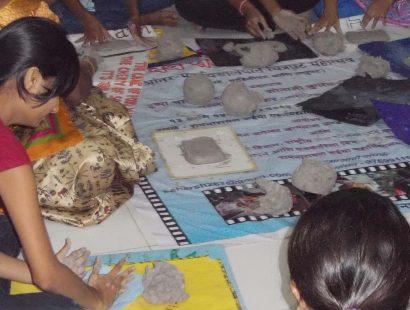 2016 Ganpati workshop Ruhiya collage matunga