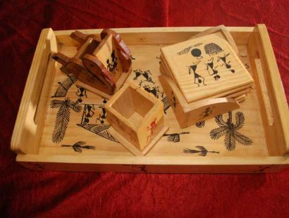Green Gifts-Pine wood artifacts a