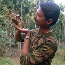 26. Rescued Mouse Deer at Dandeli Naturetrail