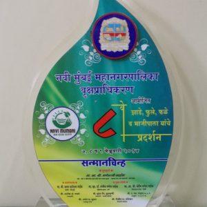 8th Navi Mumbai Mahanagarpalika, Vrukshadhikaran, Sanmanchinha (2014)